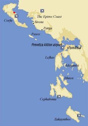 de ioniske øer